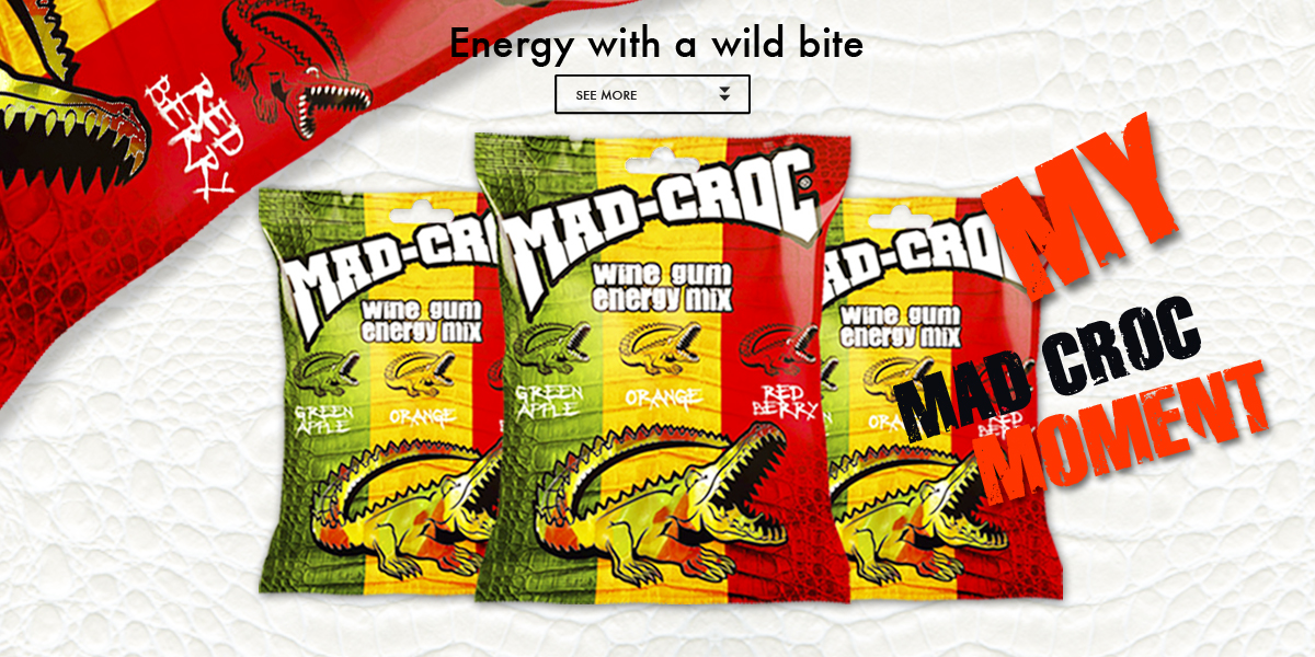 Mad Croc Brand Guideline I Mad Croc Energy Drink And Gum